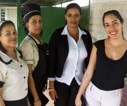 Private B&B guesthouse staff in Havana, Cuba