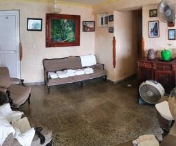 lounge room in Vista al Mar Bnb in Old Havana