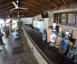 The rooftop bar in Casa Obrapia guesthouse in Old Havana