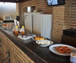 Buffet breakfast in Casona Obrapia in Old Havana