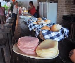 Breakfast in Casa Obrapia guesthouse in Old Havana