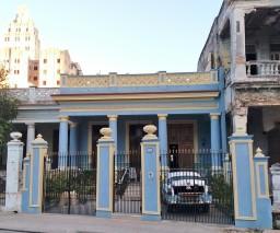 A casa particular en Vedado, Habana, Cuba