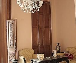 A chandelier in Havana, Cuba