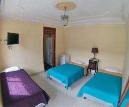 a trip room for tourists in Havana, Cuba