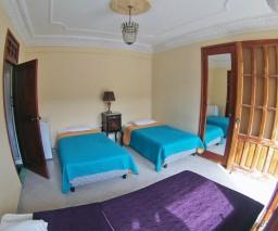 A large rental room in Vedado, Havana, Cuba