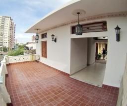 A large balcony in Vedado, Havana