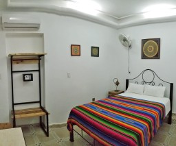 Mexican style room in Havana