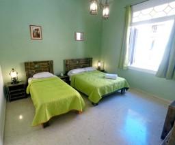 A large light filled room in Old Havana