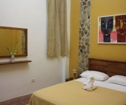 The Yellow Room at La Gargola guesthouse in Old Havana, Cuba